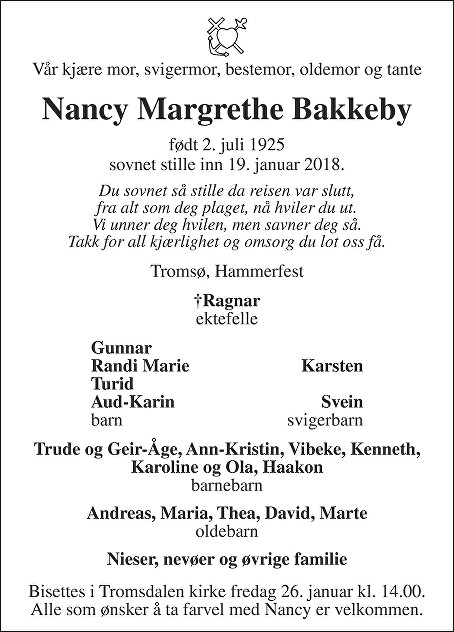 Nancy Margrethe Bakkeby
