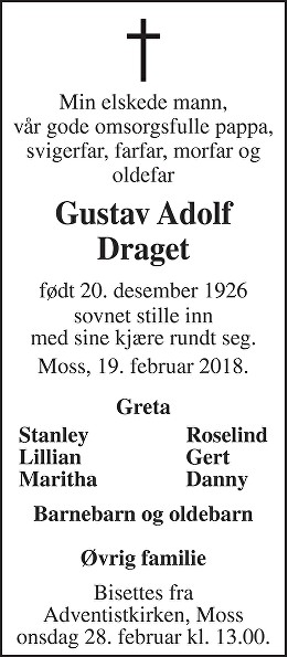 Gustav Adolf Draget