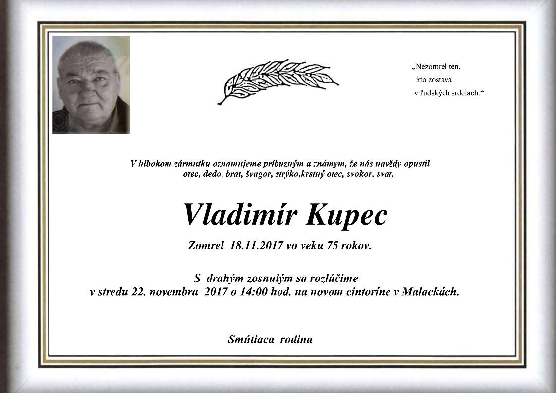 Vladimír  Kupec Parte
