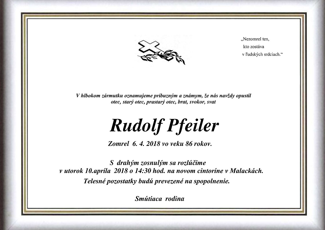 Rudolf Pfeiler Parte
