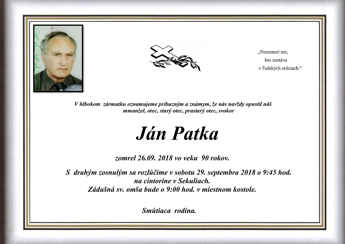 Ján Patka Parte