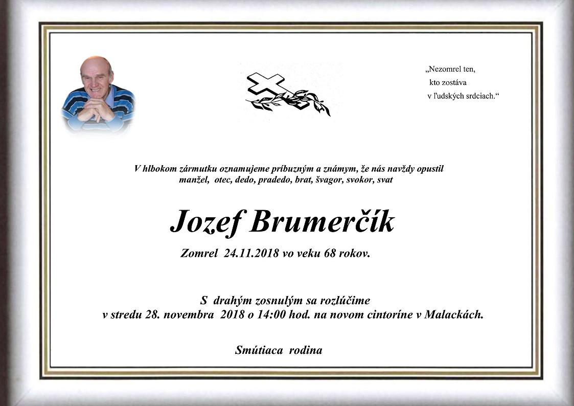 Jozef Brumerčík Parte