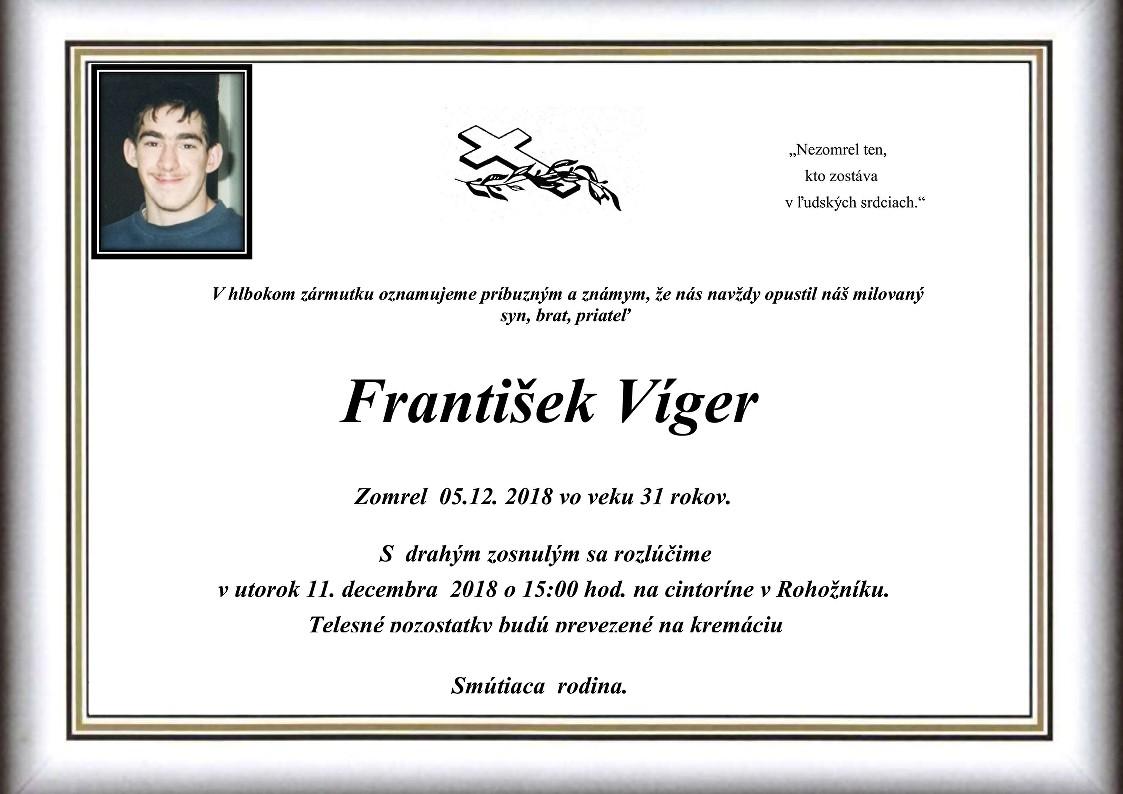 František Víger Parte
