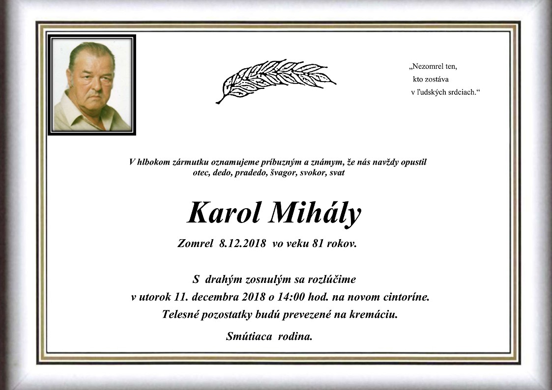 Karol Mihály Parte