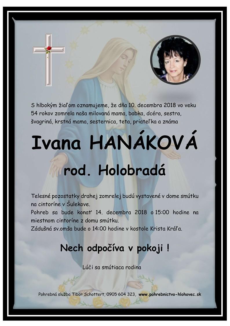 Ivana Hanáková Parte