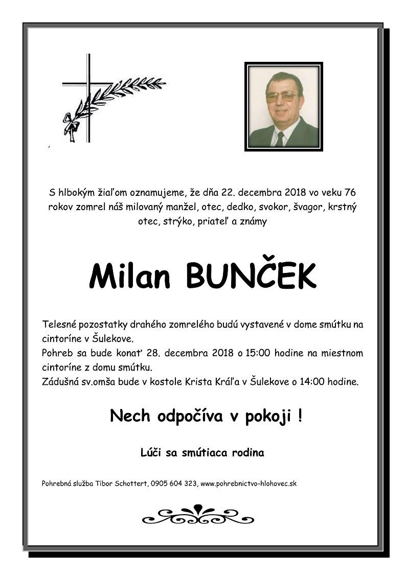 Milan Bunček Parte