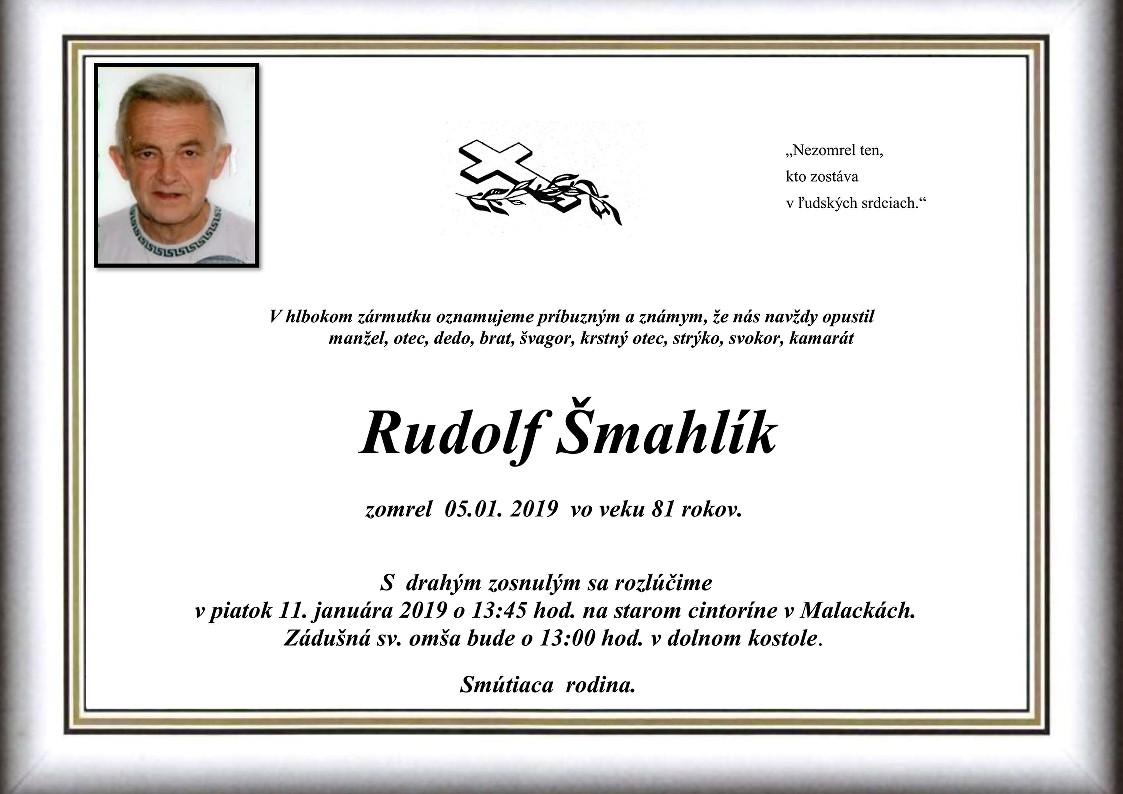 Rudolf Šmahlík Parte