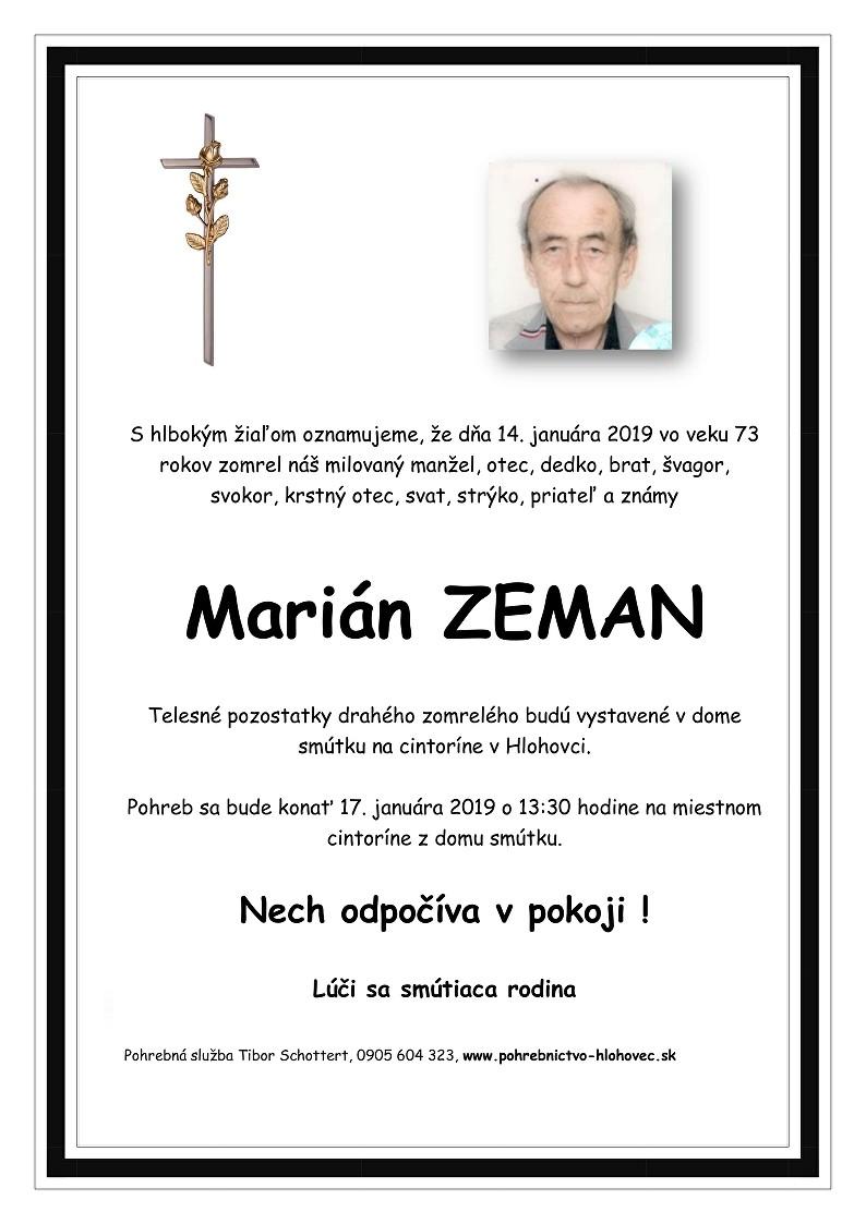 Marián Zeman Parte