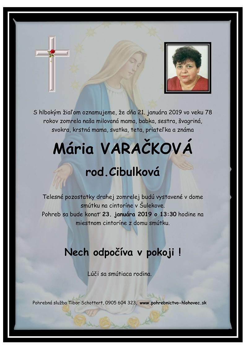 Mária Varačková Parte