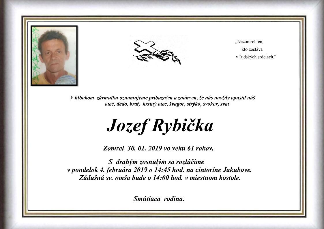 Jozef Rybička Parte