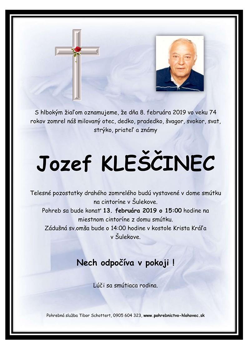 Jozef Kleščinec Parte