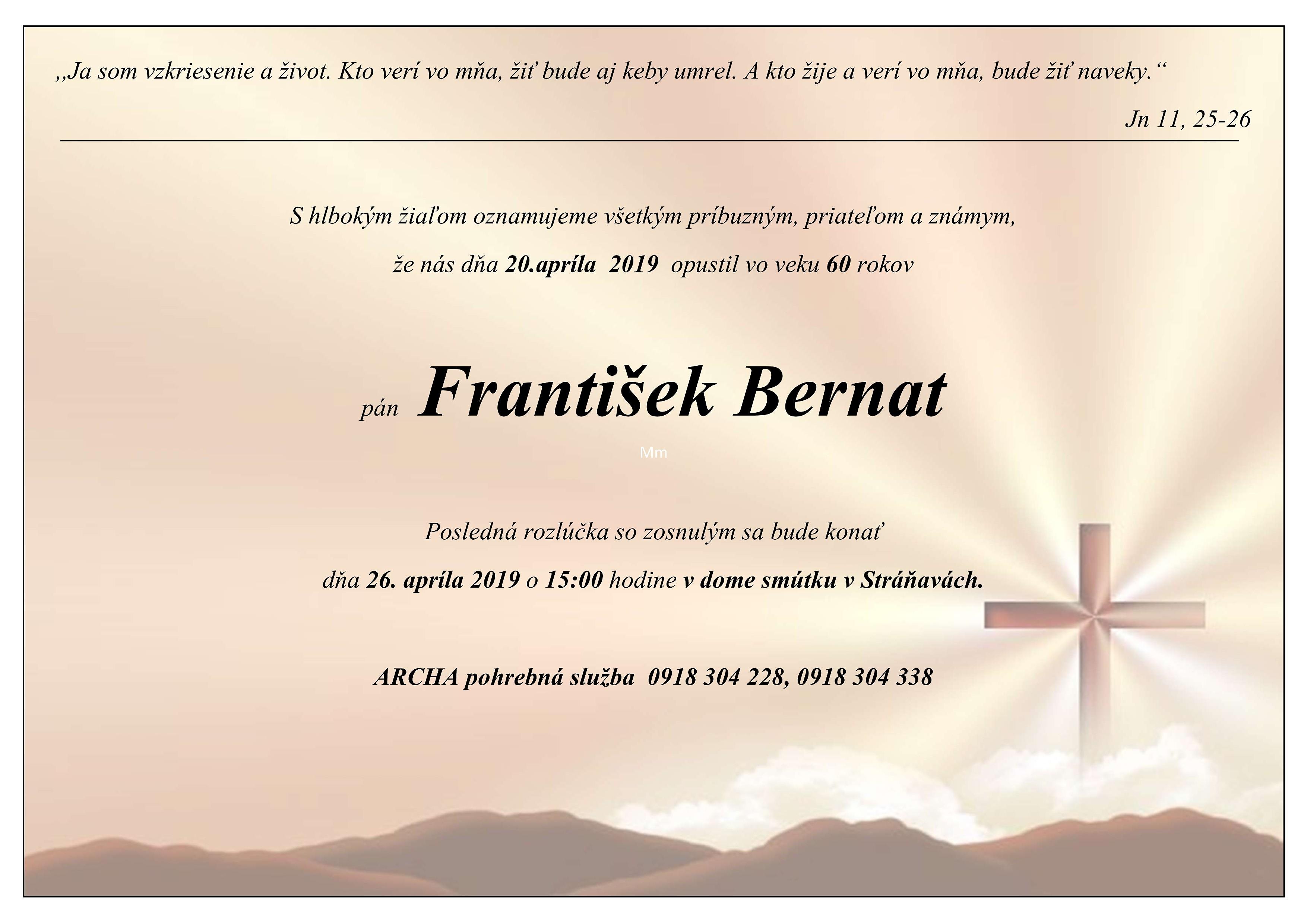 František Bernat Parte
