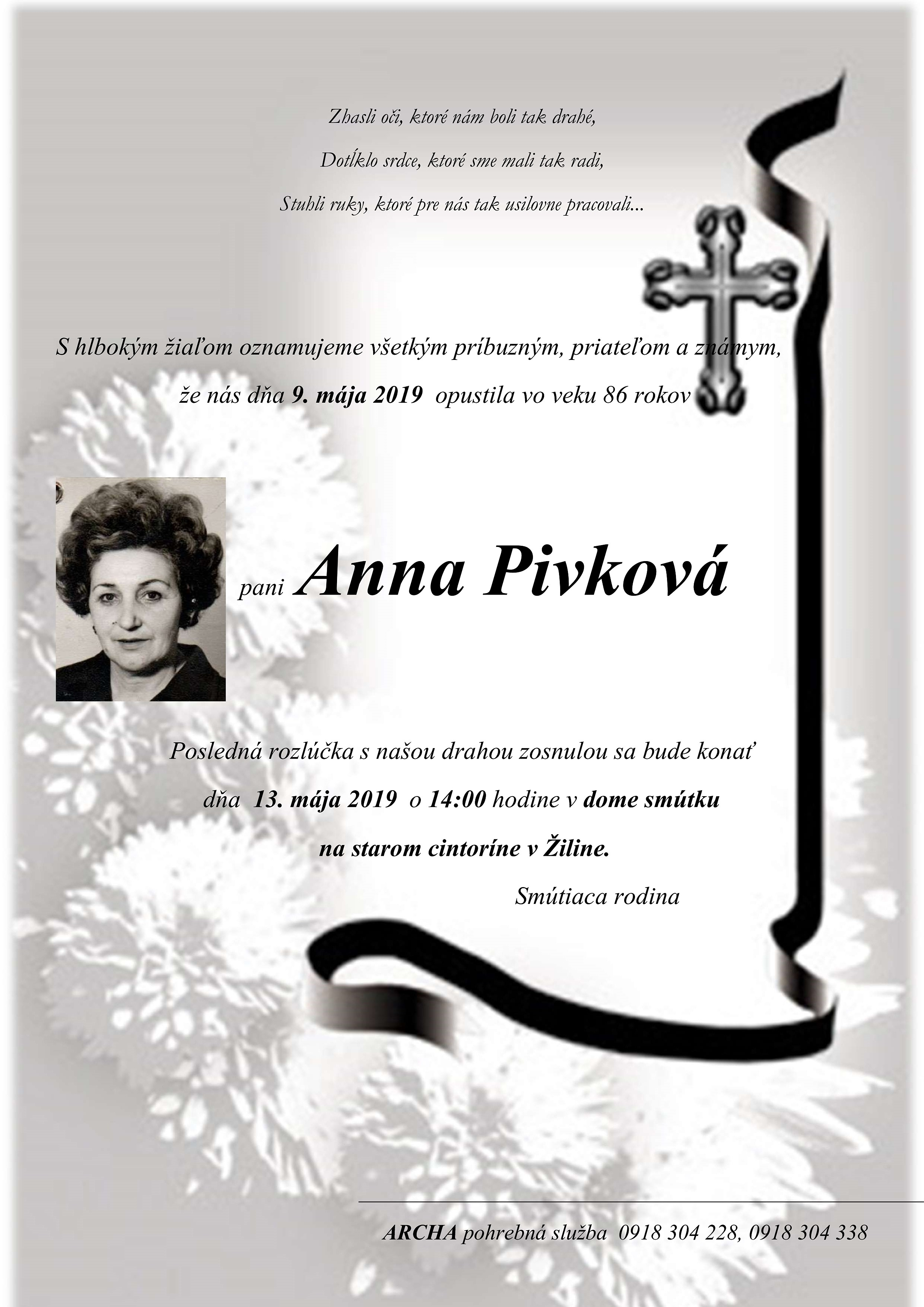 Anna  Pivková Parte