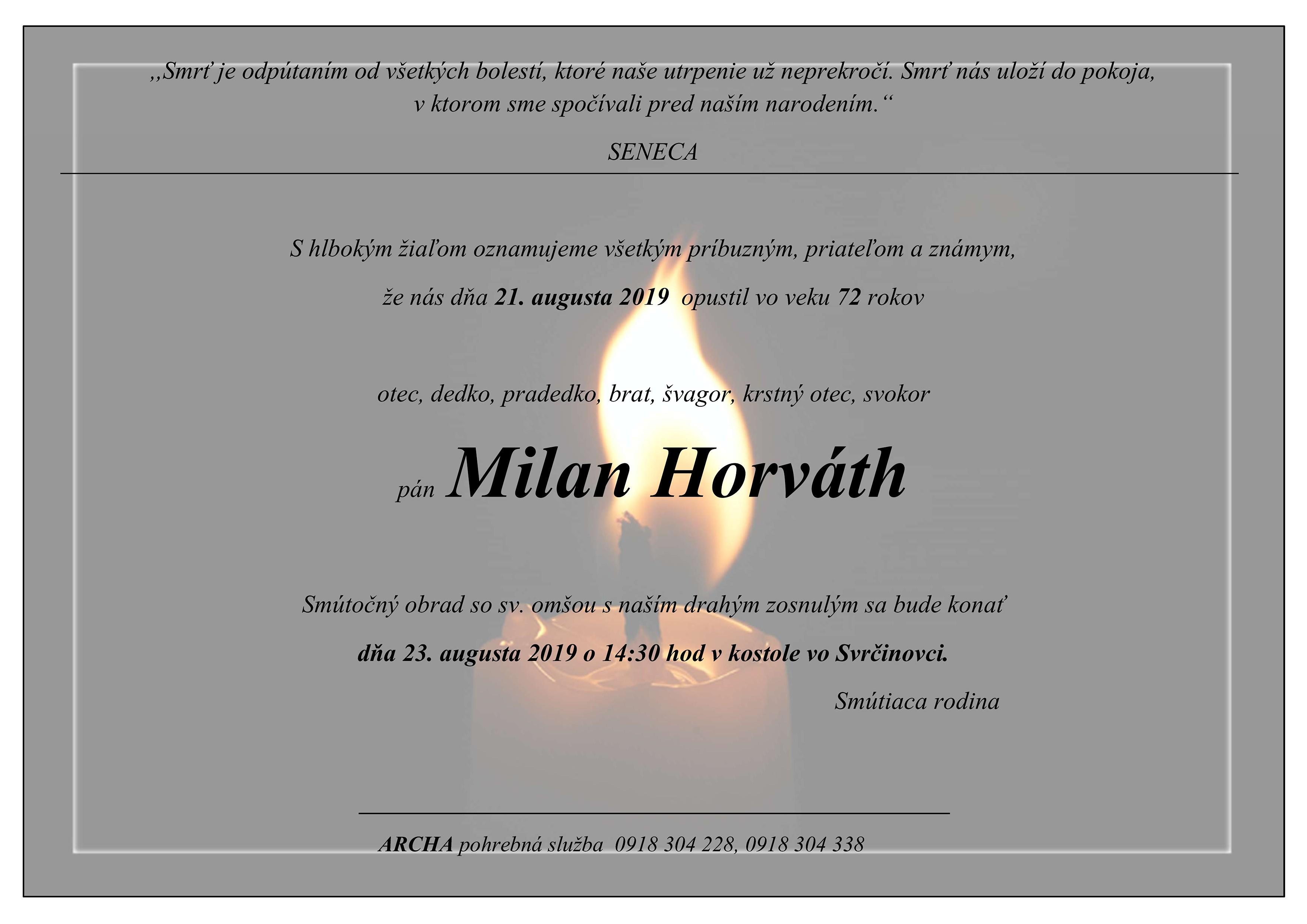 Milan Horváth Parte