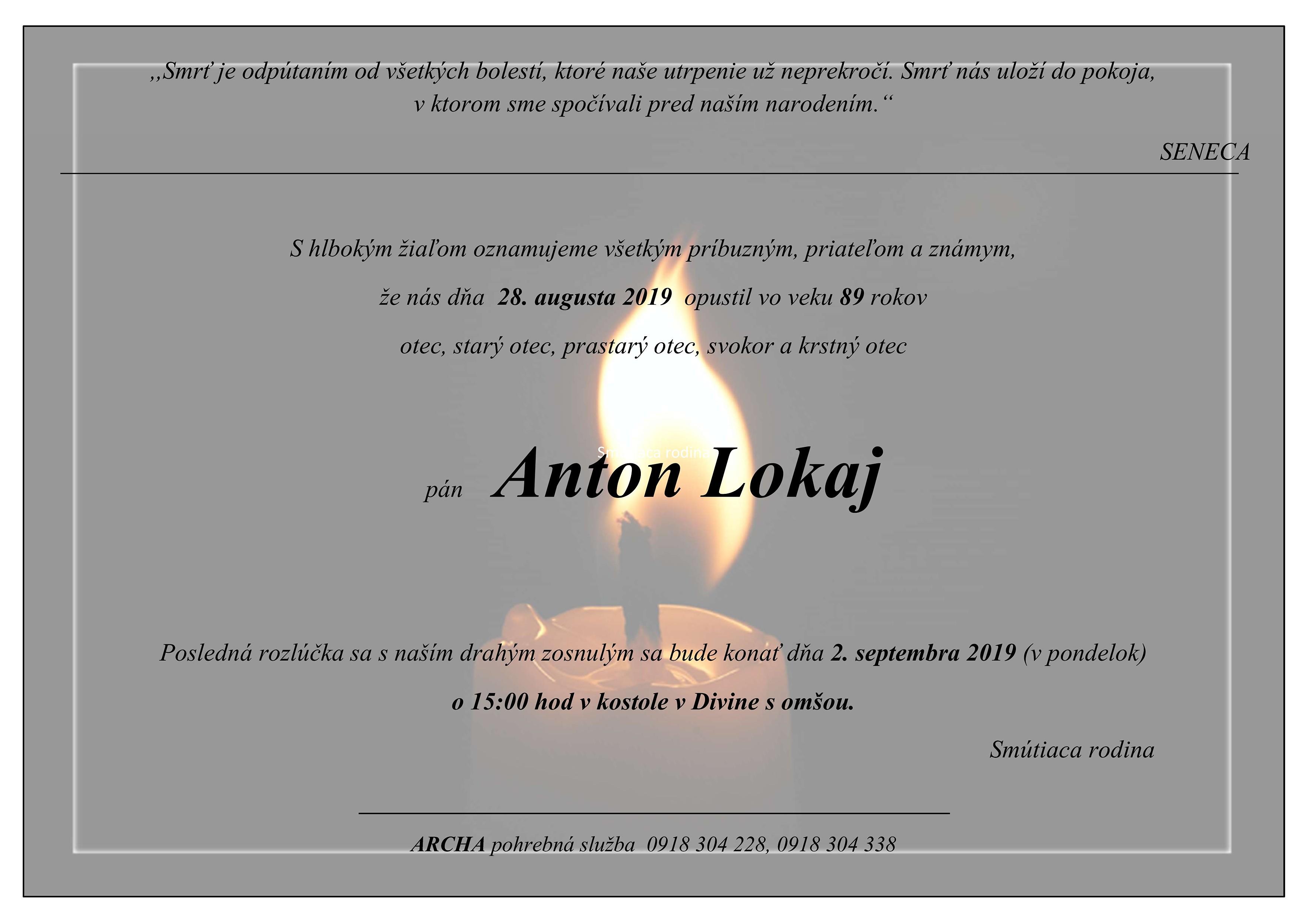 Anton Lokaj Parte
