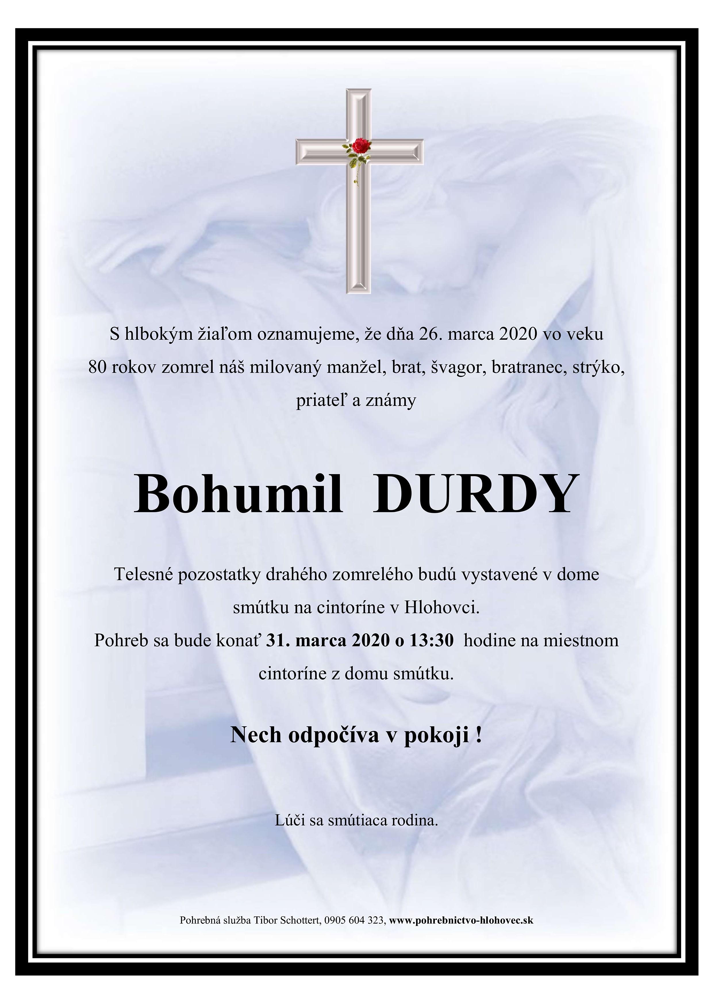 Bohumil Durdy Parte