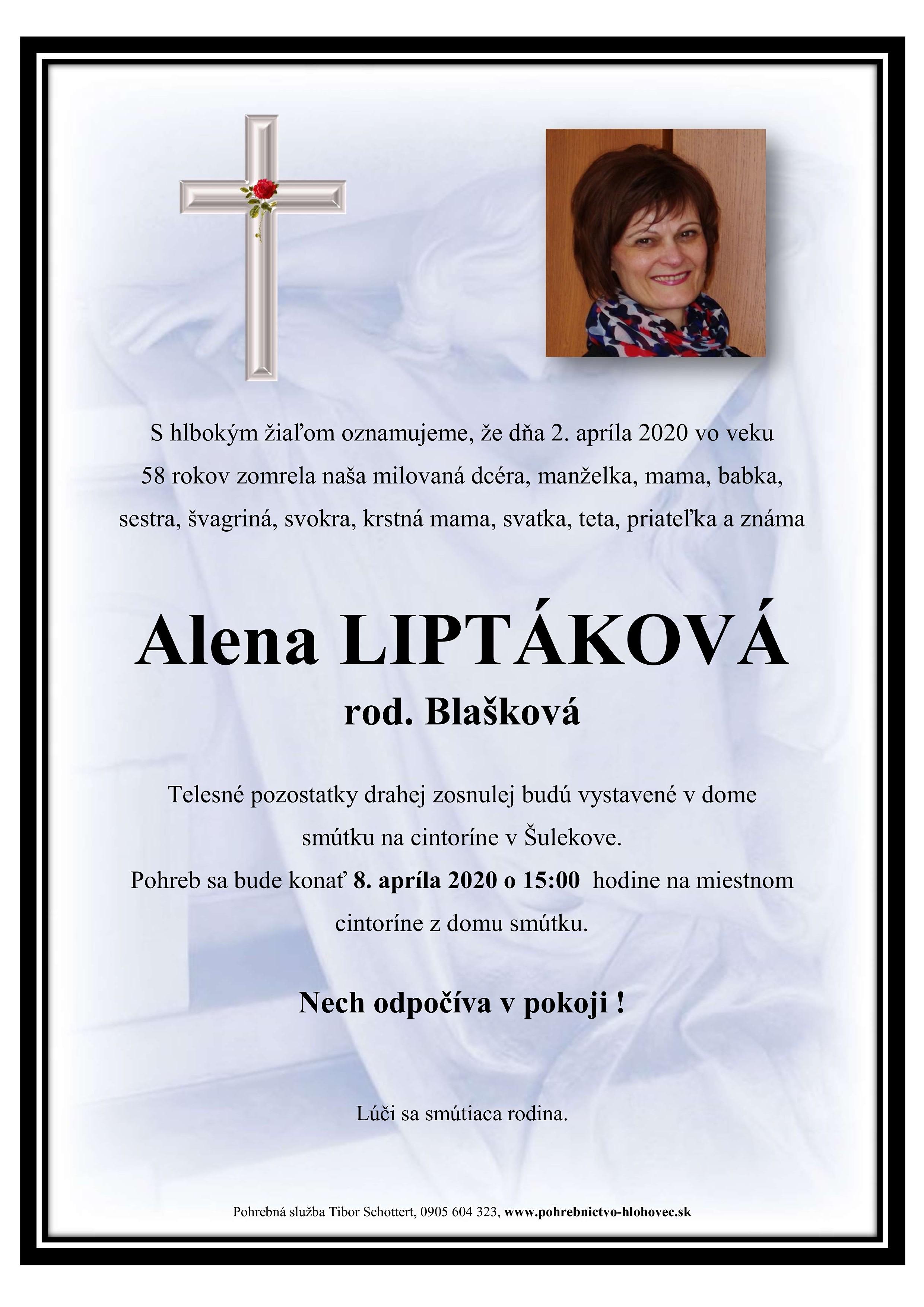 Alena Liptáková Parte