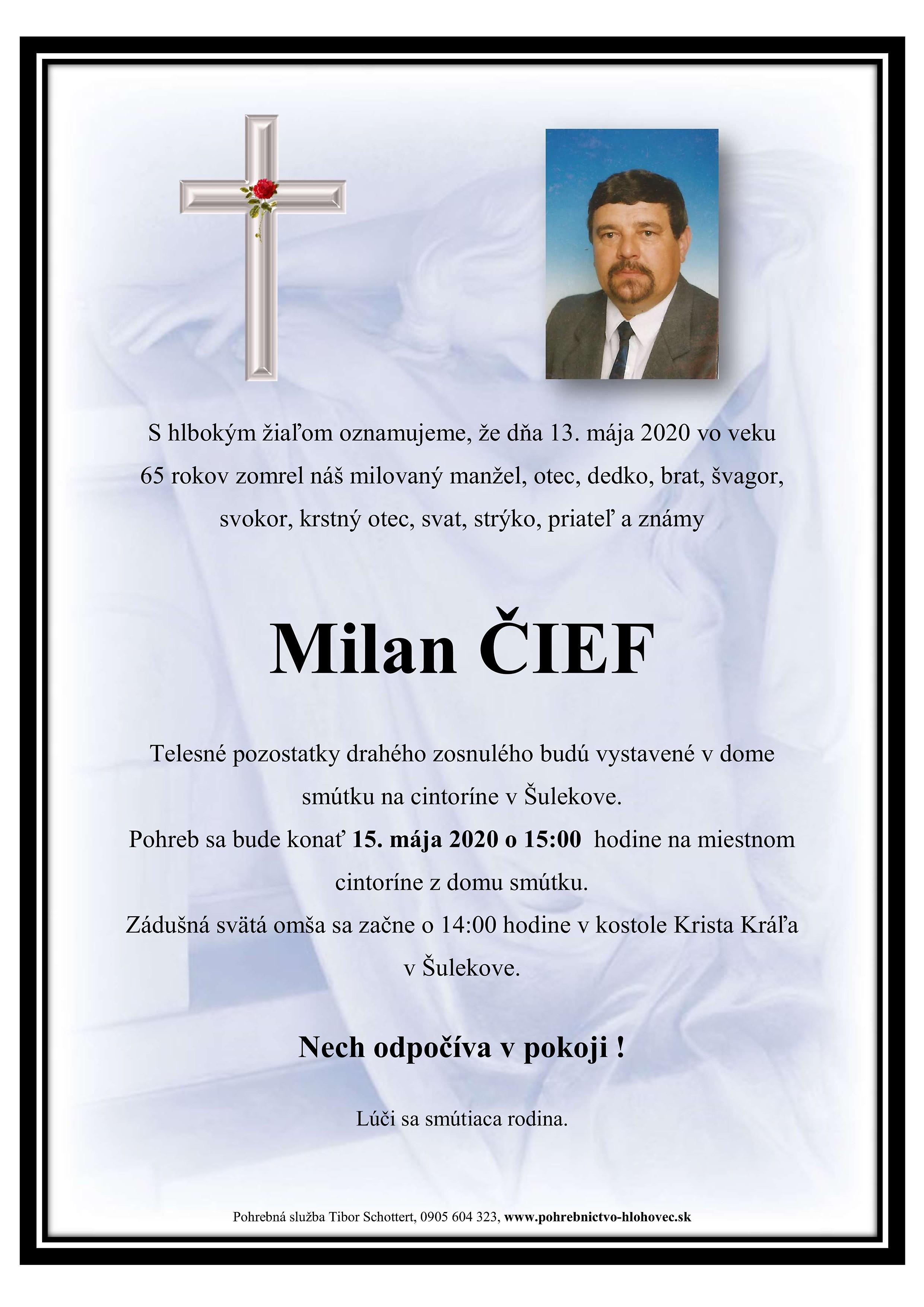 Milan  Čief Parte