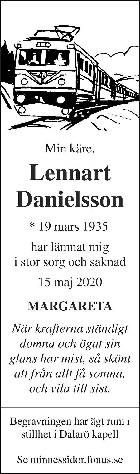 Lennart Danielsson Death notice