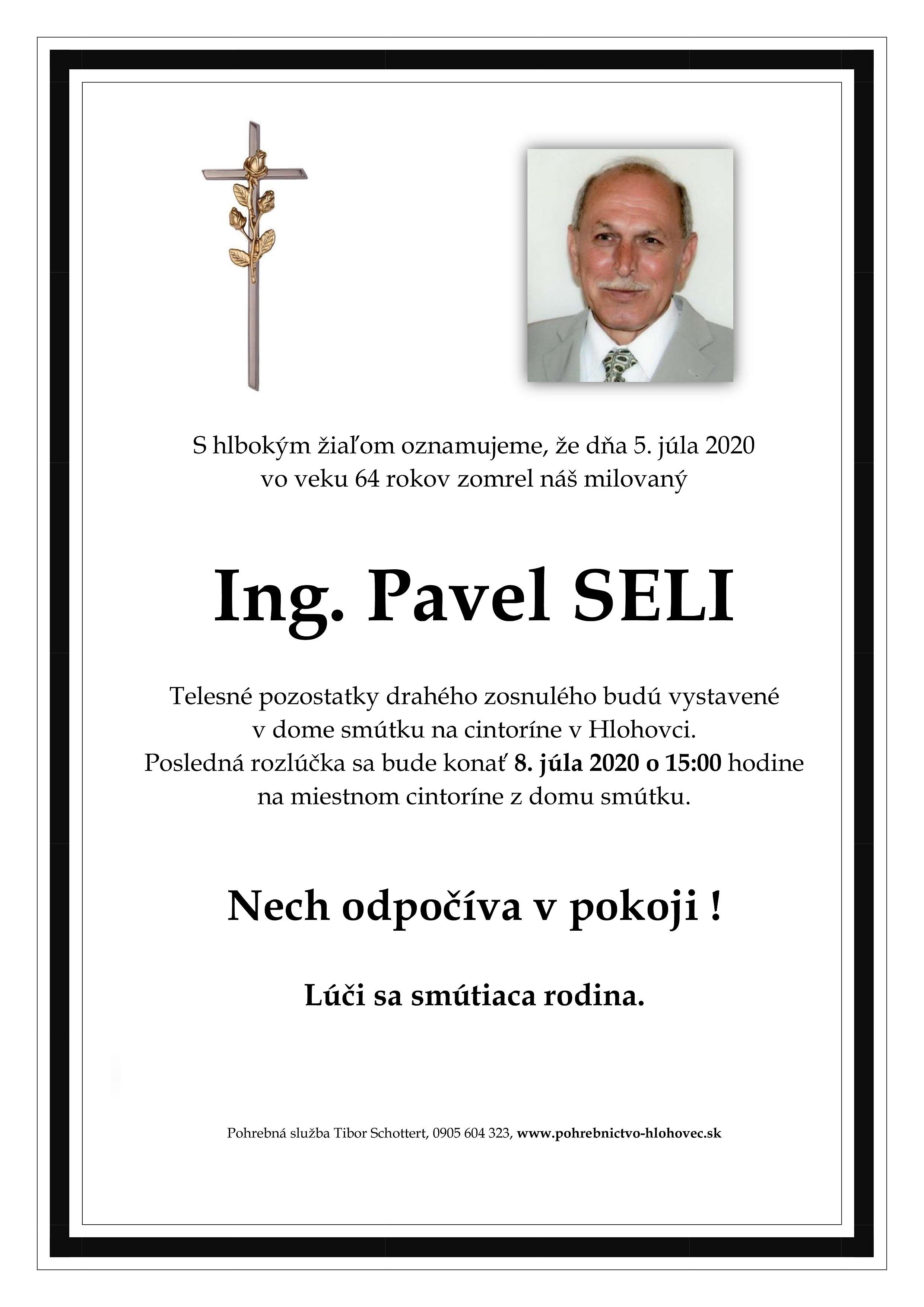 Ing. Pavel  Seli Parte