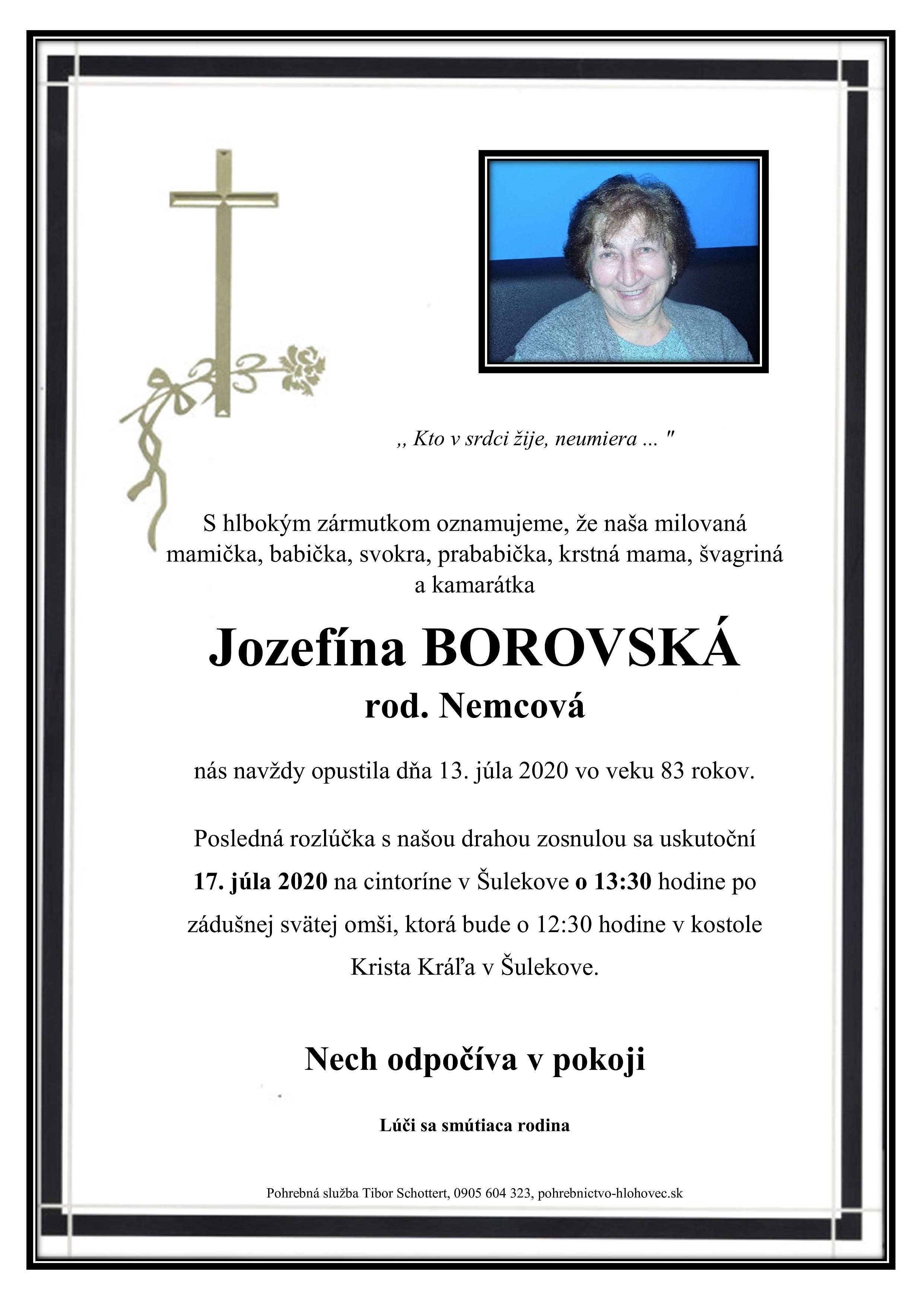 Jozefína Borovská Parte