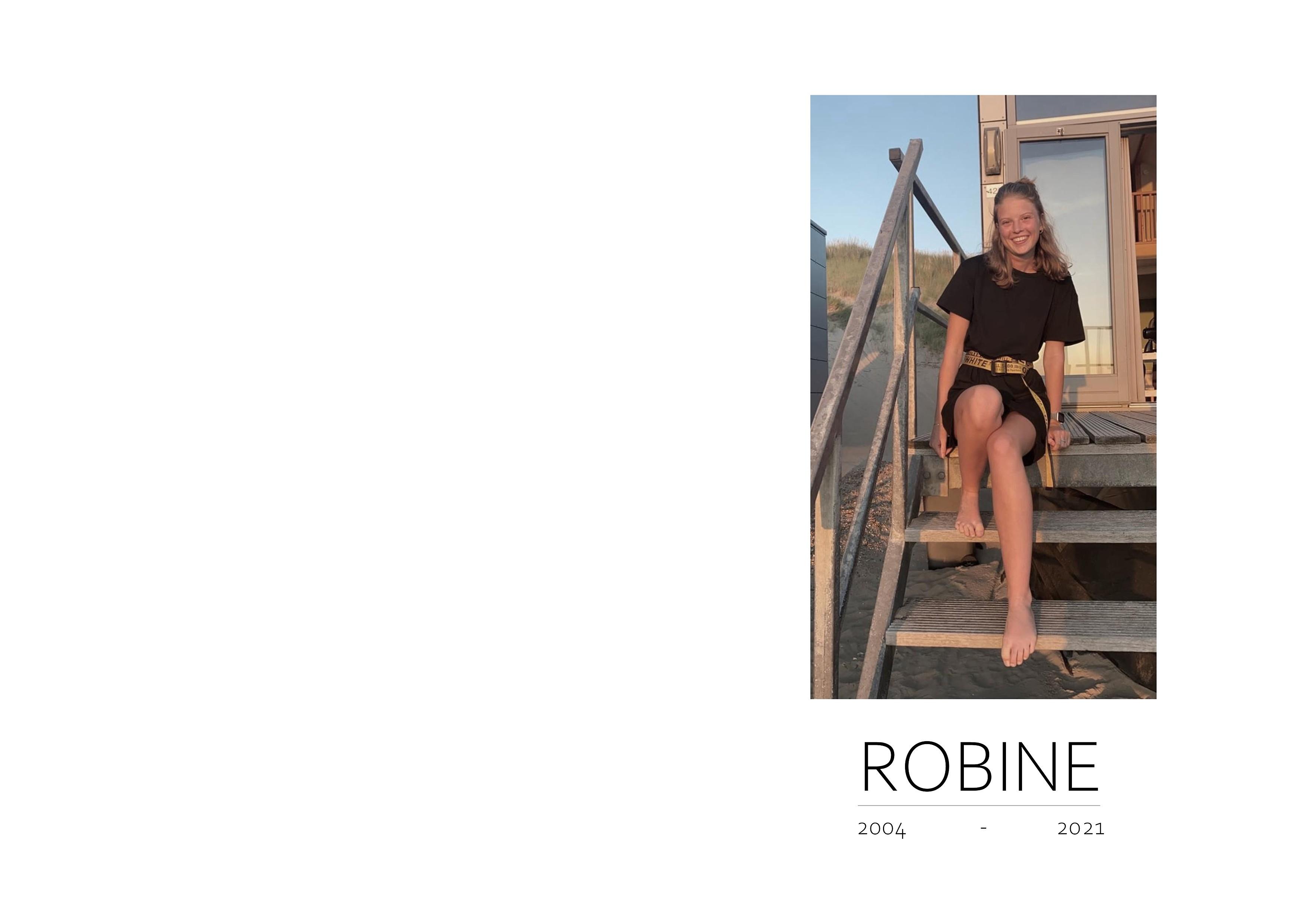 Robine Hop Death notice