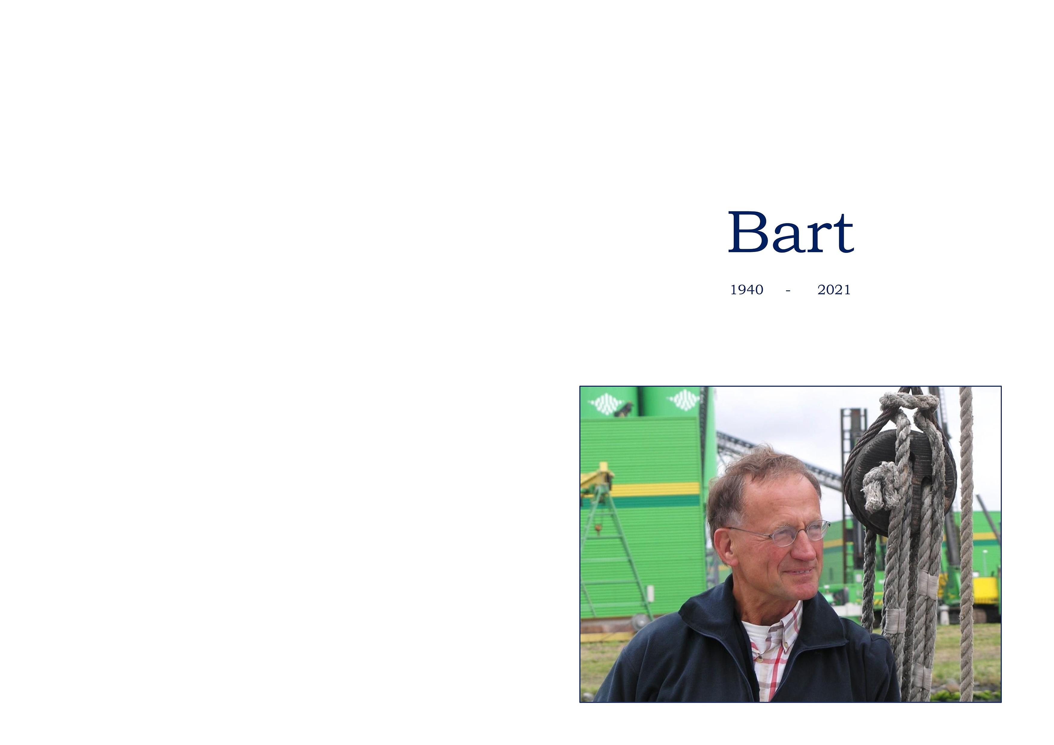 Bart Binnerts Death notice