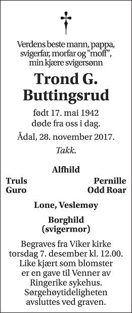 Trond G. Buttingsrud